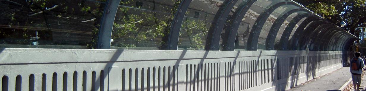 Grafton Bridge protected by GSL Glassguard